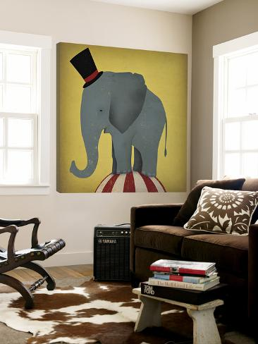 Circus Elephant Loft Art