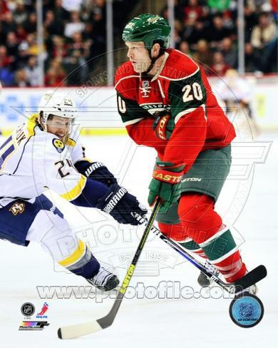 Ryan Suter 2012-13 Action Photo