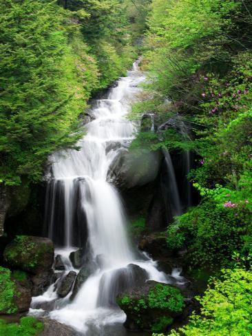 Ryuzu Water Falls Photographic Print
