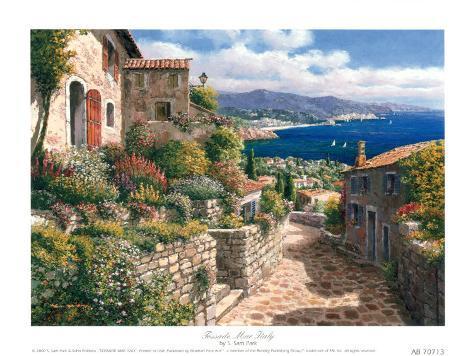 Tossade Mar Italy Art Print