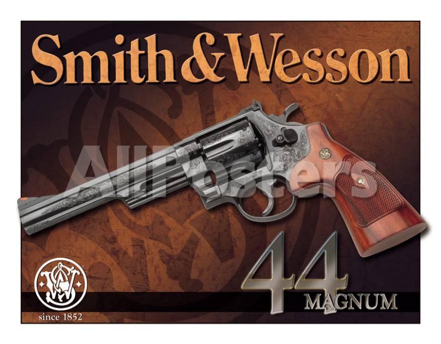 S&W - 44 Magnum Carteles metálicos en AllPosters.es