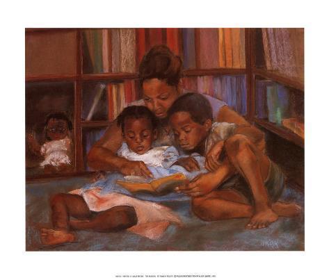 The Reading Art Print