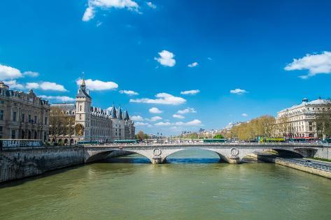 Paris the Seine Photographic Print