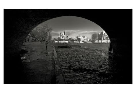 Through the Eyes of Paris Giclee Print