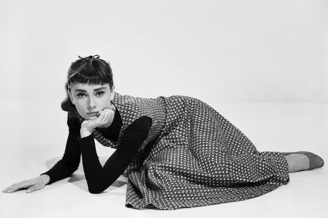 Sabrina, 1954 directed by BILLY WILDER, Actress: Audrey Hepburn Photo