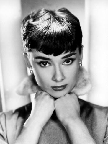 Sabrina, Audrey Hepburn, Directed by Billy Wilder, 1954 Photo