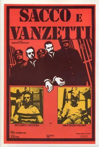 Sacco & Vanzetti - French Style Poster
