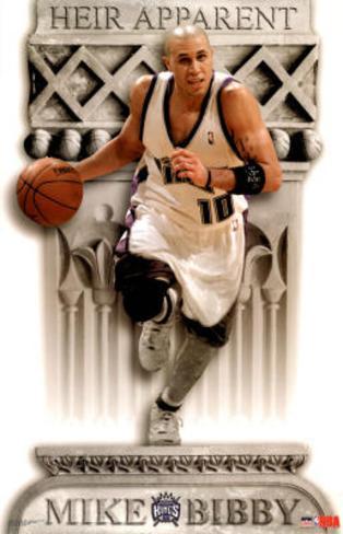 Sacramento Kings Mike Bibby Heir Apparent Sports Poster Print Poster