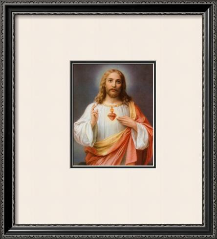 Sacred Heart Of Jesus Art Allpostersca