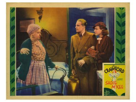 Sadie McKee, 1934 Stretched Canvas Print
