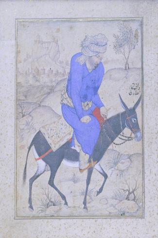 Sadiqi Mosavir, Moghul Miniature Giclee Print