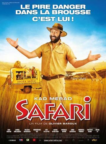 Safari Movie Poster Masterprint