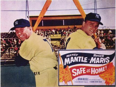 Safe At Home, 1962 Art Print