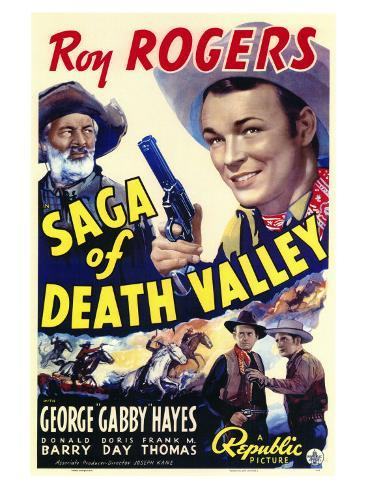 Saga of Death Valley, 1939 Art Print