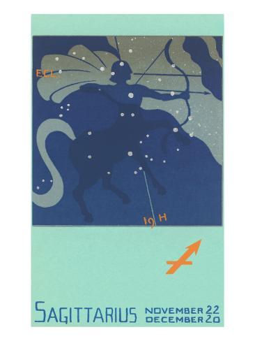 Sagittarius, the Archer Art Print