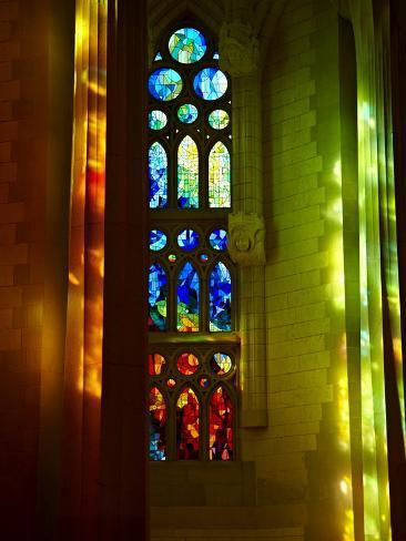 Sagrada Familia, UNESCO World Heritage Site, Barcelona, Catalonia, Spain, Europe Photographic Print