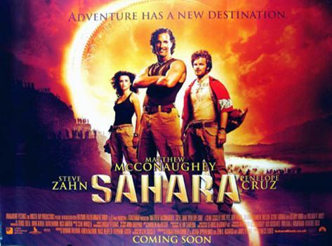 Sahara Double-sided poster