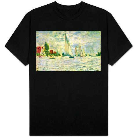 Sailboats, regatta in Argenteuil T-Shirt