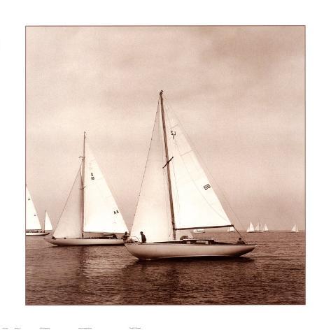 Sailing VI Art Print