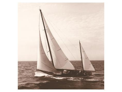 Sailing VIII Premium Giclee Print