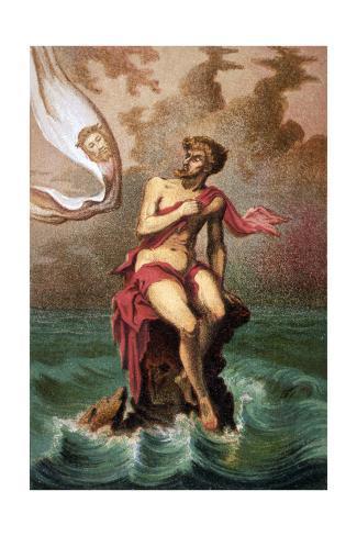 Saint Brendan and Judas Lámina giclée
