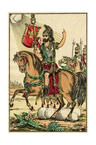 Saint Eustachio Lámina giclée