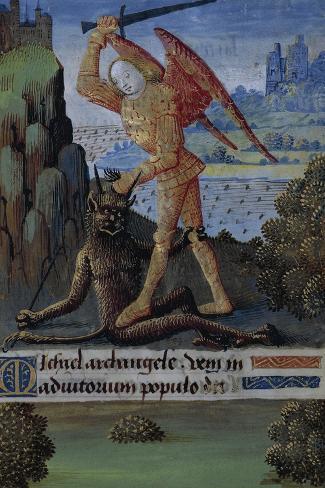 Saint Michael Archangel Lámina giclée