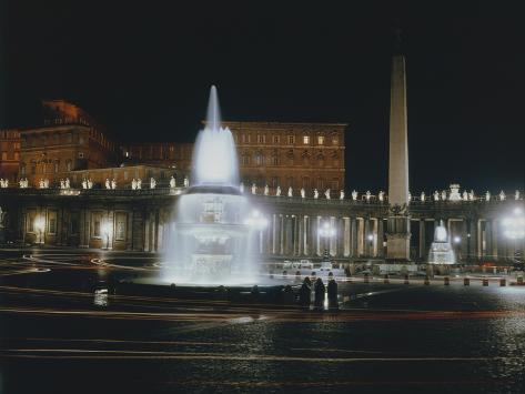 Saint Peter's Square Photographic Print