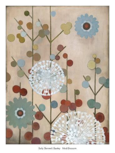 Mod Blossom Art Print