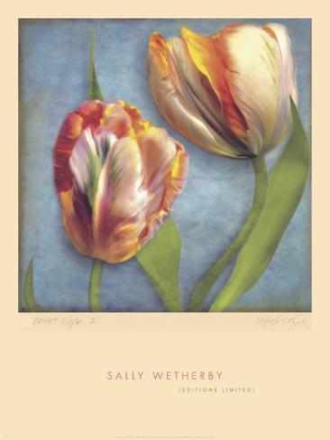 Parrot Tulips I Framed Art Print