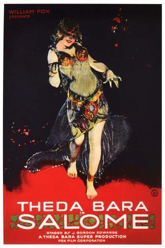 Salome, Theda Bara Poster Poster