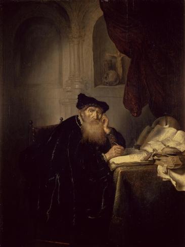 Philosopher, 1635 Giclee Print