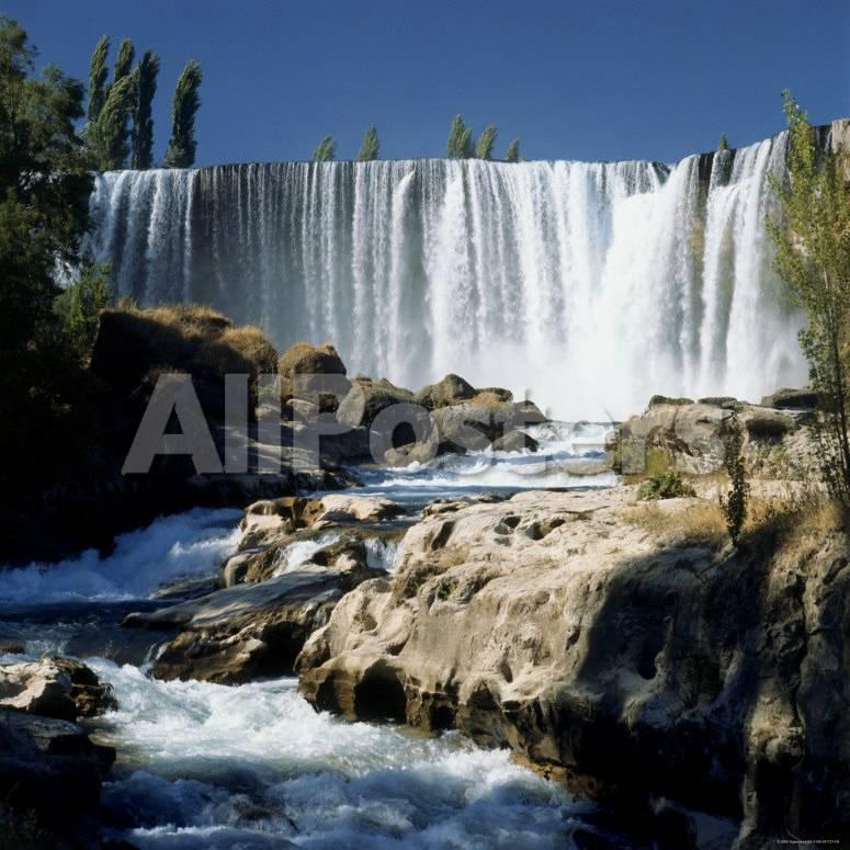 Salto Del Laja, Laja River, Chile Lámina fotográfica en AllPosters.es