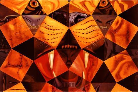 Cinquenta, Tigre Real Pôster