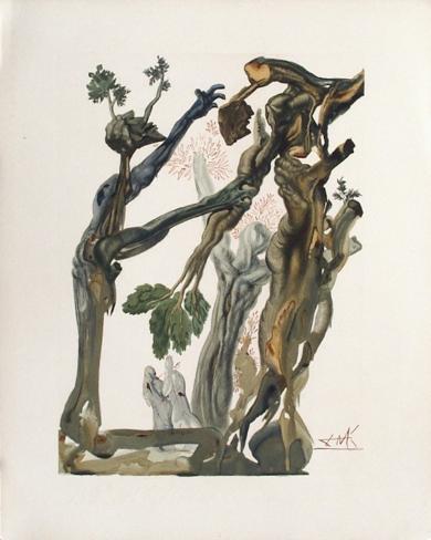 Divine Comedie, Enfer 13: La Forêt Des Suicidés Lámina coleccionable