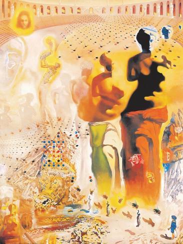 Le torero hallucinogene stampe di salvador dal su allposters le torero hallucinogene altavistaventures Gallery