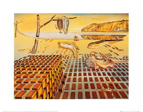 The Disintegration of the Persistence of Memory, c.1954 Konstprint
