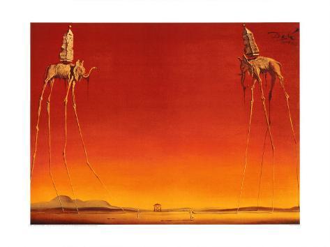 The Elephants, c.1948 Art Print