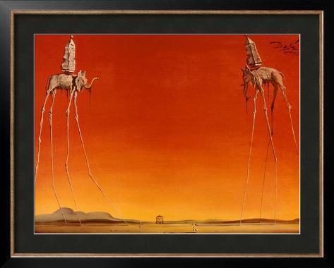 The Elephants, c.1948 Framed Poster