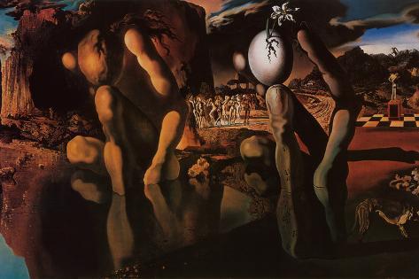 The Metamorphosis of Narcissus, c.1937 Pôster