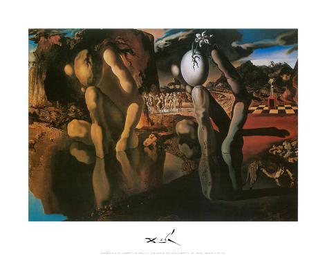 The Metamorphosis of Narcissus, c.1937 Art Print
