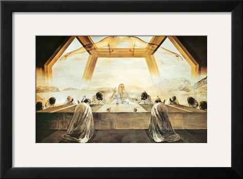 The Sacrament of the Last Supper, c.1955 Framed Art Print