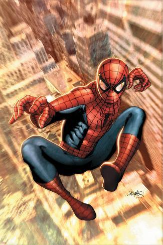 The Amazing Spider-Man No.549 Cover: Spider-Man Poster