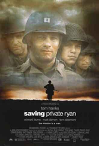 Salvar al soldado Ryan Lámina maestra