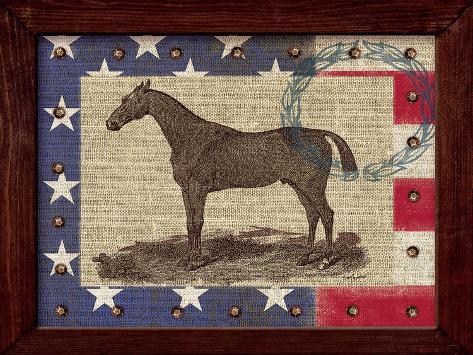 American Equestrian Art Print