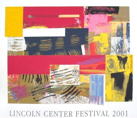 Lincoln Center Festival, 2001 Serigraph