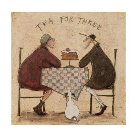Tea for Three Giclee Print
