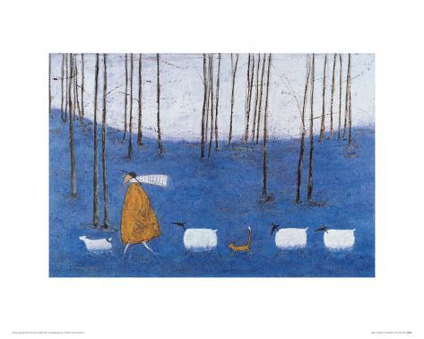 Tiptoe Through The Bluebells Giclee Print
