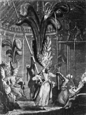 A Hint to the Ladies to Take Care of their Heads, Printed by Sayer + Bennet, 1776 (Engraving) Giclee Print