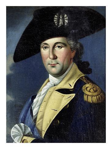 George Washington Stretched Canvas Print